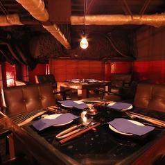 2F人気のロフト席♪6名様から8名様で個室としてご利用できます。