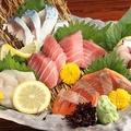 料理メニュー写真北海道直送 旬の五点盛り