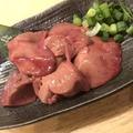 料理メニュー写真レバー (ごま油・たれ・プレーン)