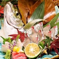 新鮮旬魚を堪能