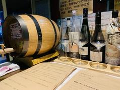 ワイン食堂ならではのワインのラインナップが充実!各種コースや単品飲み放題では、スパークリングやサングリア、樽生レモンサワーも飲み放題!夢のよう☆