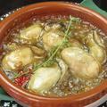 料理メニュー写真地御前産ぷりぷり牡蠣のアヒージョ