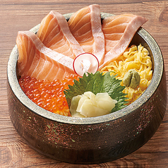 とろサーモンといくら丼 【通常価格】1200円⇒《特別価格》