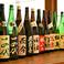 """厳選した日本酒を取り揃えております♪日本全国の""""銘酒""""と呼ばれる人気の日本酒をご準備しております!"""