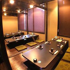 【18名様程度】の個室です!松山市駅周辺で個室の居酒屋と言ったら、若の台所 松山店です♪是非、当店をご利用ください!また、どのようなことでも一度お問い合わせください。できる限り、ご相談にお乗りします!お待ちしております!!