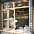 テイクアウトサービスも行っています◎お仕事の合間や買い物途中にコーヒー1杯いかがですか?