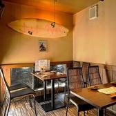 大人気のテーブル個室は最大10名様!ご予約がおすすめです!
