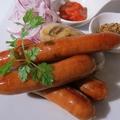料理メニュー写真ソーセージ3種