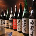 当店の飲み放題は常に日本酒を12種類以上取り揃えておりお値段に応じて更に3から5本ご提供致しております。