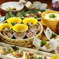 和食おばんざいを集めたコース。