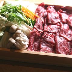 料理メニュー写真牛肉のすき焼き(1人前)