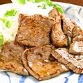 料理メニュー写真鯨のにんにくステーキ
