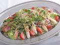 料理メニュー写真カニつめサラダ