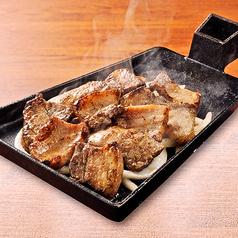 黒豚炭火焼 (旨塩・黒七味)