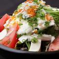 料理メニュー写真かく田野菜サラダ