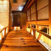 ◆落ち着いた雰囲気の和モダン個室は2名様~最大40名様まで対応しております◆※系列店舗との併設店舗となります
