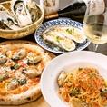 明石産海鮮をふんだんに使用した本格イタリアンコース料理★¥3,000~