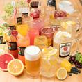 単品飲み放題もご用意しております!ハイボール、焼酎、酎ハイ、梅酒、カクテルなど男性にも女性にも嬉しいラインナップ♪富山駅前の好立地でお酒を思う存分楽しめる個室居酒屋。
