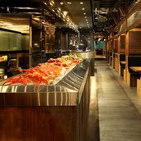 北海道の食材がいっぱい