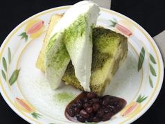 料理メニュー写真シフォンケーキ