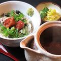 料理メニュー写真南高梅のお茶漬け