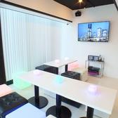【7階】何名様からでもお使いいただける個室は、最大12名様までのご利用が可能です。お料理付きのパーティープランやドリンクのみのプレイプランなどをご用意♪