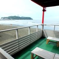 江ノ島の景色を見ながら・・・♪