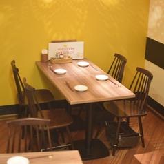 ランチテーブル