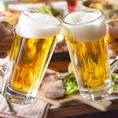 【ドリンク内容充実】お料理に合わせたお酒を種類豊富にご用意しております♪生ビール、カクテル、梅酒、ワイン、銘柄焼酎、日本酒、ハイボール、サワー、オリジナルドリンクなど…♪さらにお酒好きのお客様には、飲み放題プランも♪当店ではお時間に合わせて飲み放題プランをご用意♪最大で時間無制限の飲み放題プランも♪
