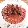 料理メニュー写真イタリア産 生ハム&サラミの盛り合わせ