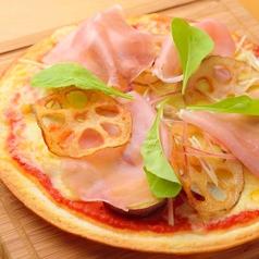食材色々市場のピッツァ