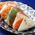料理メニュー写真トマト&チーズ