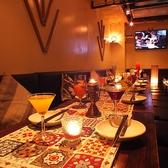 4名様~20名様個室でゆったりパーティ!くつろぎの個室空間は4名様~アジアンテイストのあふれる個室は雰囲気抜群♪ご宴会・歓送迎会、飲み会が可能!