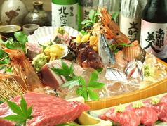 海鮮料理 天ぷら ゆうやのコース写真