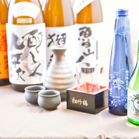 宴会にピッタリ!梅酒・焼酎・地酒など種類豊富にご用意