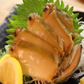 料理メニュー写真南三陸産あわびの刺身