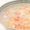 料理メニュー写真蟹肉入りフカヒレスープ