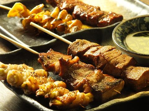 職人こだわりの串焼きと厳選された日本酒と焼酎を堪能☆是非ご賞味ください!