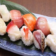 料理メニュー写真握り寿司10貫