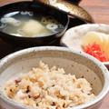 料理メニュー写真南三陸産タコ飯(みそ汁、漬物付)