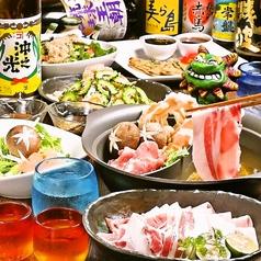 琉球 梅酒ダイニング てぃーだ 上野店のコース写真