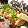 料理メニュー写真若鶏のとりわさ