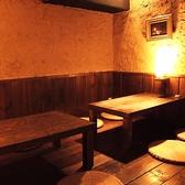掘りごたつテーブル席はお席を繋げて最大40名様までの宴会に!