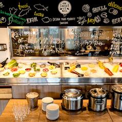 肉バルVS魚バル デザインフードマーケットのおすすめランチ1