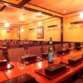 【大宴会席】最大66名様までの個室席。