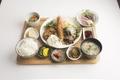 料理メニュー写真七色定食