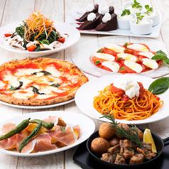 Trattoria Pizzeria LOGIC お台場のコース写真