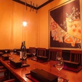【小宴会席】最大12名様までの個室席。