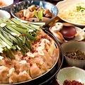料理メニュー写真博多名物 もつ鍋(お醤油味)