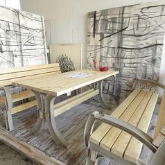 【半個室】小上がりテーブル席※ご要望でカーテンを降ろし、半個室に変更可能です。記念日やお誕生日にもぴったりです!